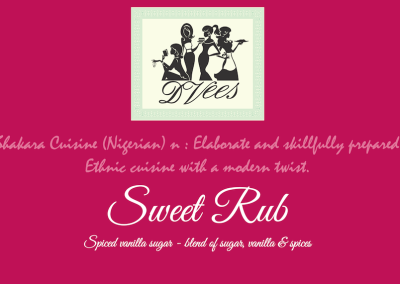 DVees Sweet Rub