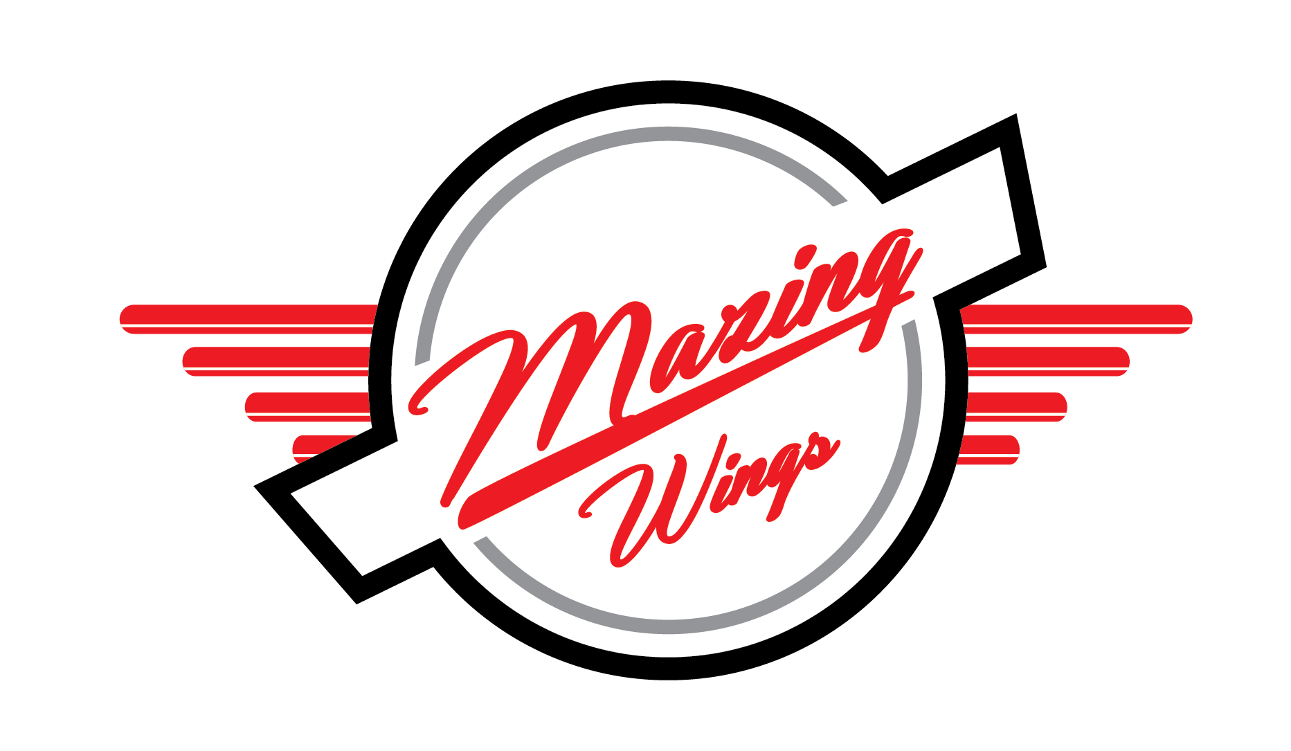 Mazing Wings Logo
