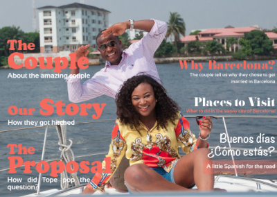 Tomi & Tope Wedding Magazine