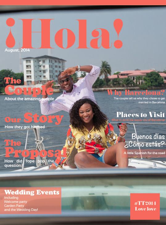 Tomi and Tope Magazine